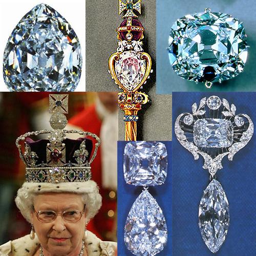 Куллинан1 Самые известные белые алмазы
