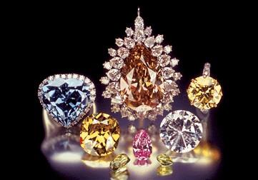 цветные бриллианты 11 Цвет бриллианта