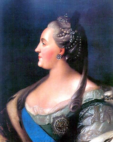 Екатерина II Огранка драгоценных камней