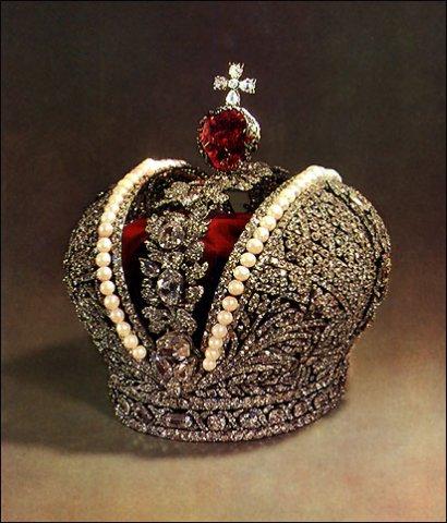 корона Екатерины II Ювелирное искусство России 18 века