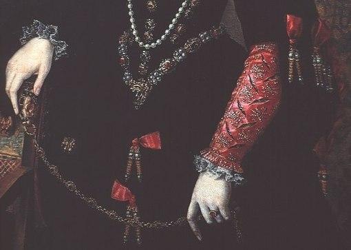 одежда придворных дам Ювелирное искусство России 18 века