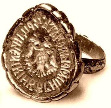 перстень Ювелирное искусство России 16 17 век