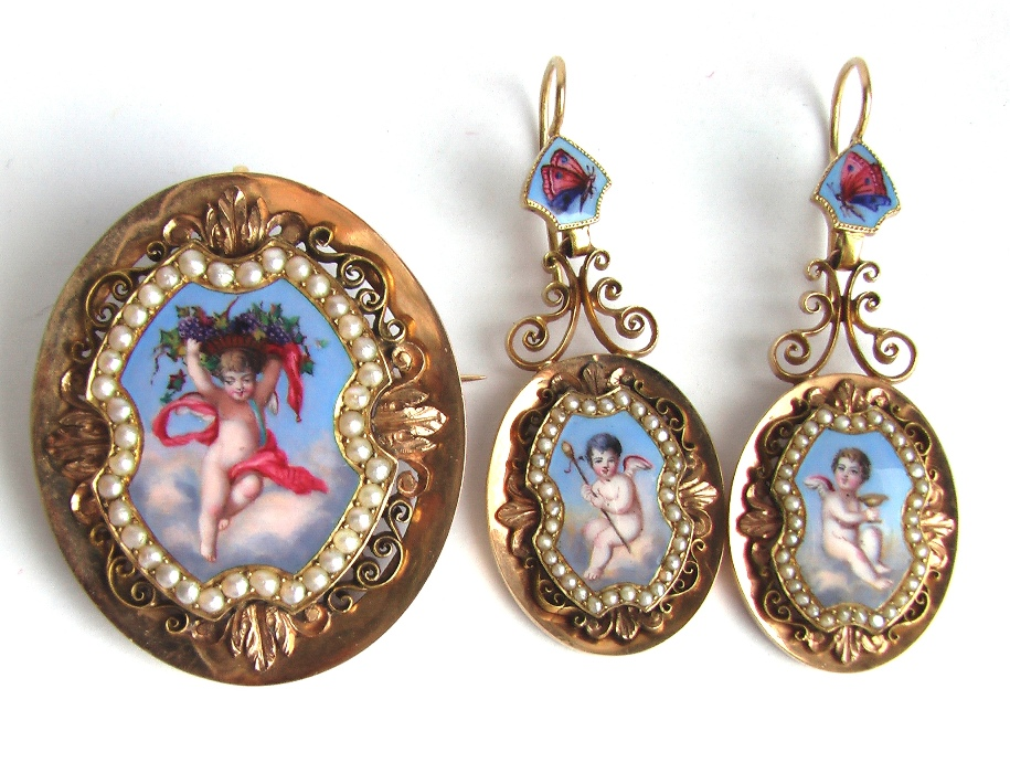 серьги 18 век Модные украшения в России 18 век