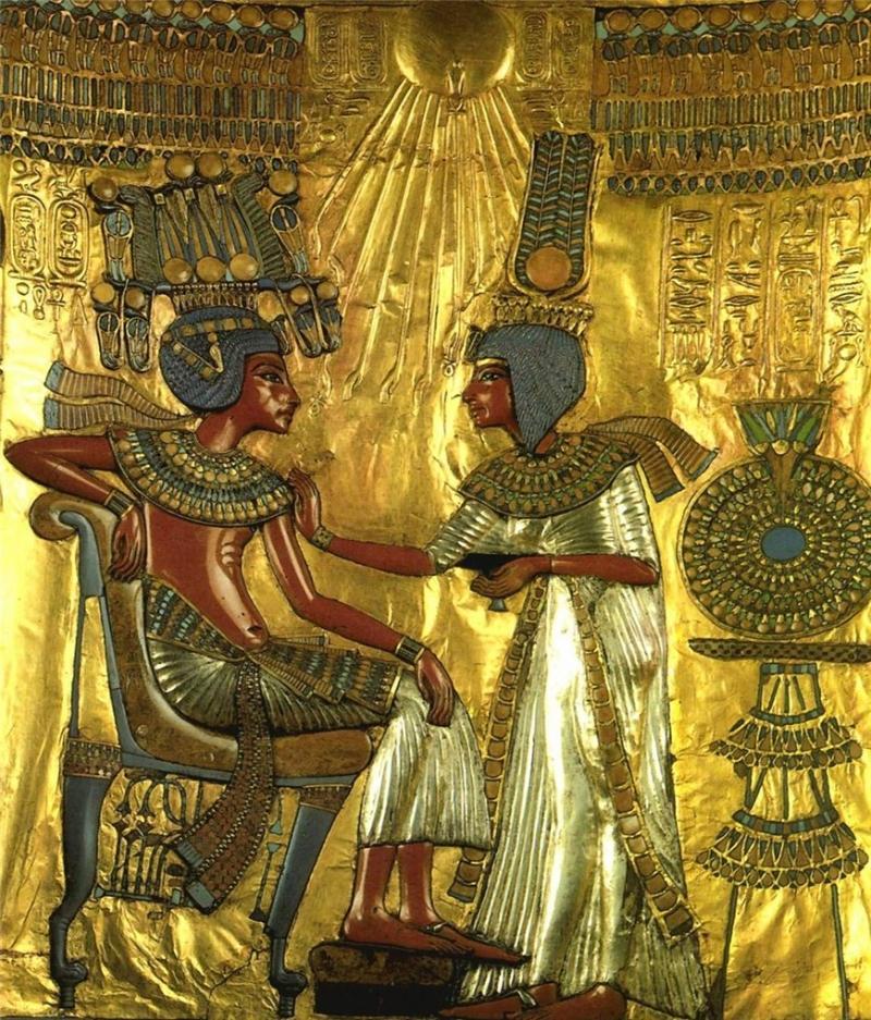 драгоценности гробницы тутанхамона Гробница Тутанхамона