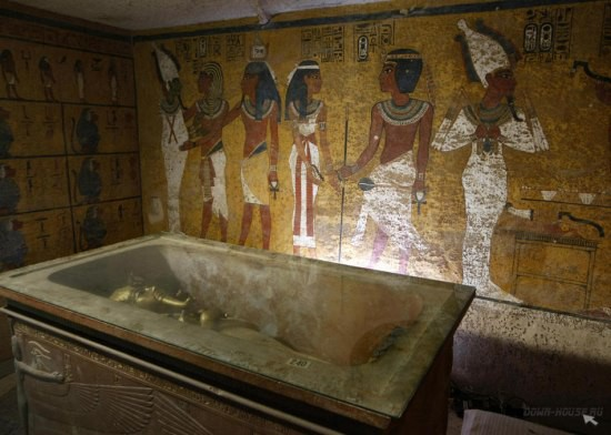 ковчег фараона тутанхамона Гробница Тутанхамона