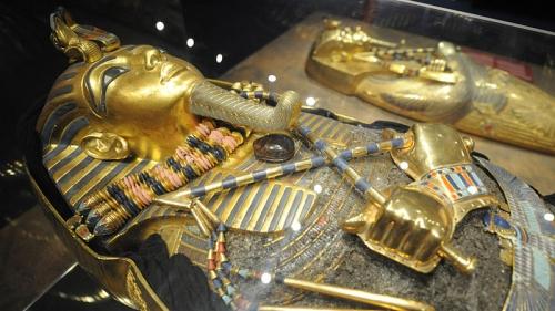 маска Тутанхамона Гробница Тутанхамона