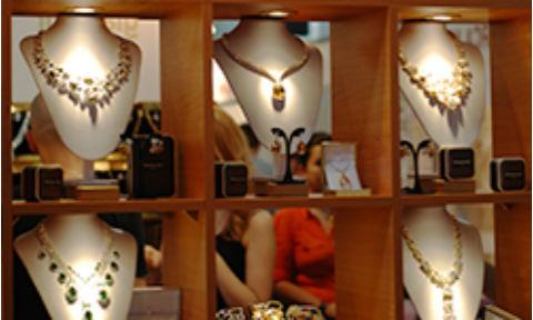 выставка украшения Выставка ювелирных украшений