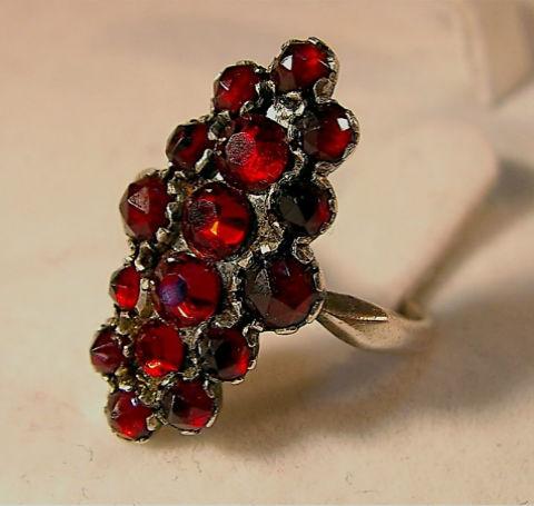 гранат кольцо Гранат камень