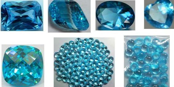 синие камни названия и фото
