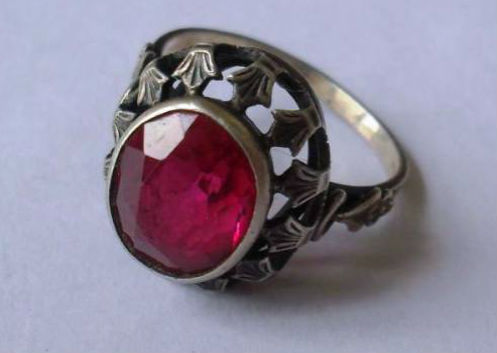 кольцо корунд Корунд камень
