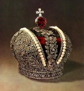 корона 276x300 Драгоценности семьи Романовых