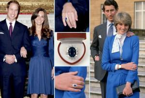 принцесса Диана кольцо 300x202 Драгоценности принцессы Дианы