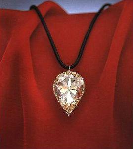 бриллиант луна бороды Королевские драгоценности.
