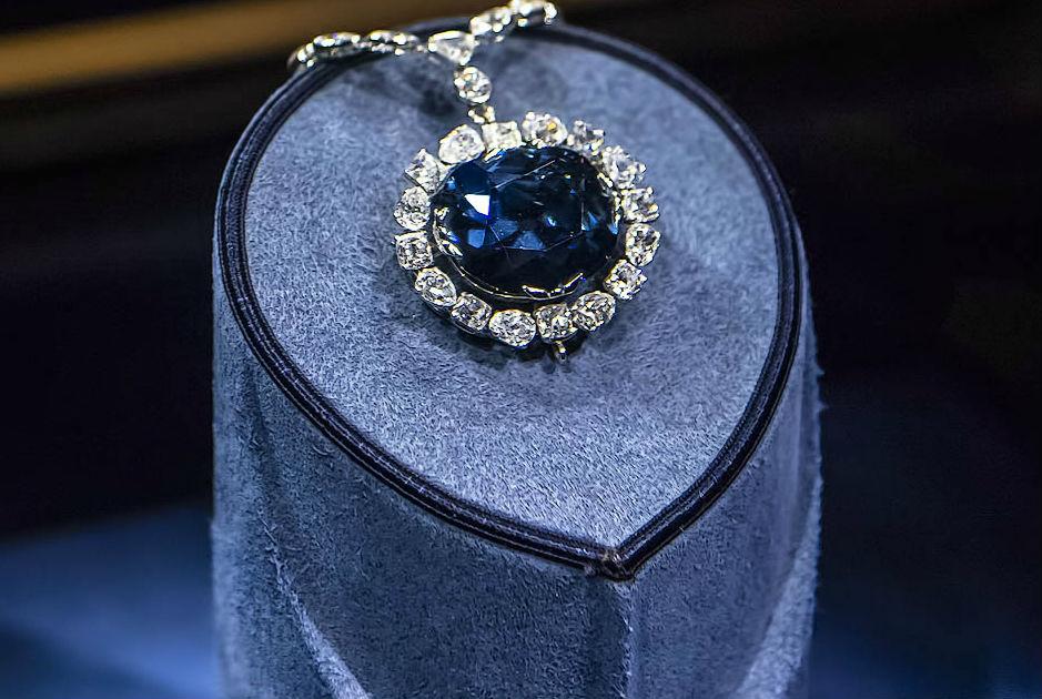 бриллиант хоуп Королевские драгоценности.