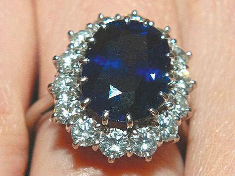 обручальное кольцо дианы Королевские драгоценности.