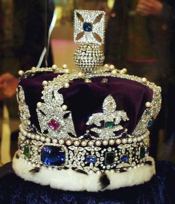 сапфир династии стюарт Королевские драгоценности.