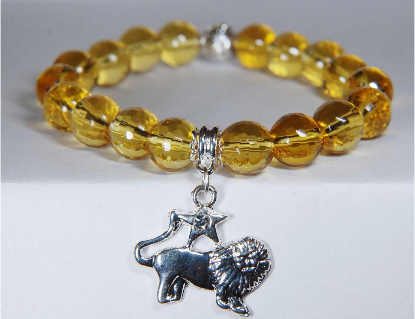 цитрин браслет для льва Цитрин камень