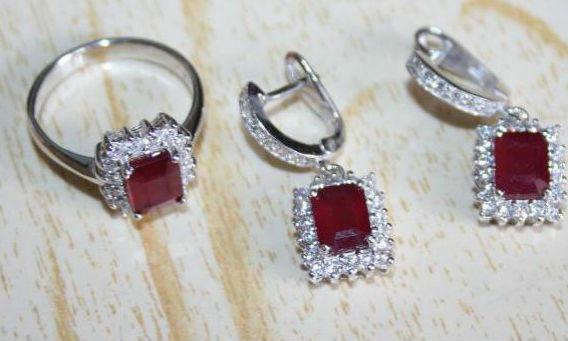 камень рубин серьги 1 Камень рубин магические свойства