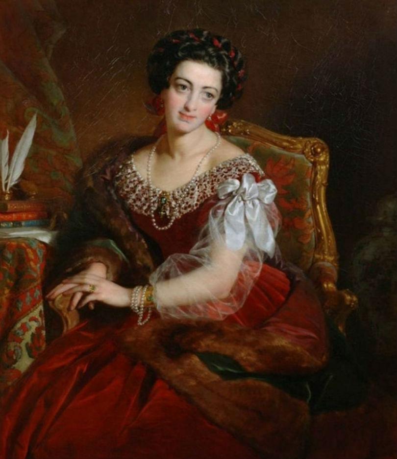 Бушерон графиня Кастильоне Бушерон