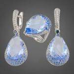 ювелирные изделия из серебра 150x150 Камень для Водолея женщины