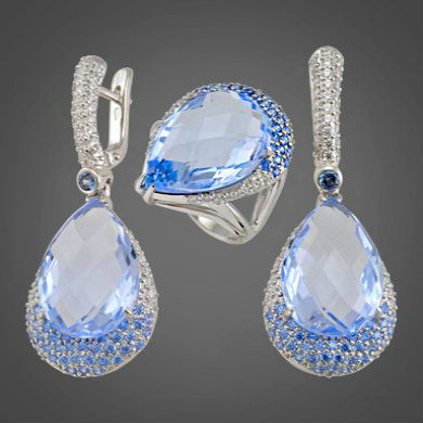 ювелирные изделия из серебра Украшения из серебра с натуральными камнями