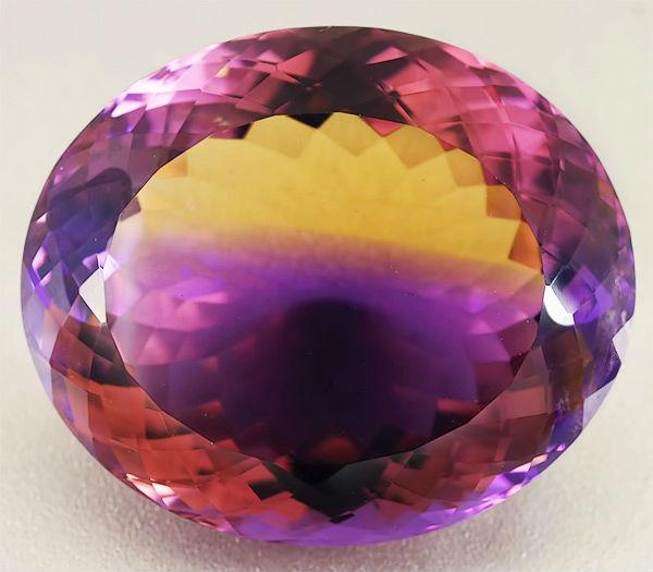 аметрин камень Аметрин