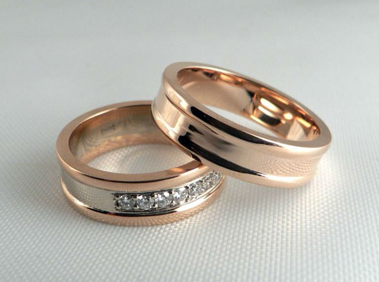 парные кольца1 Бриллиантовые украшения