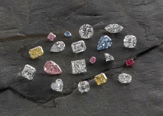 цвет алмаза Цвет алмаза