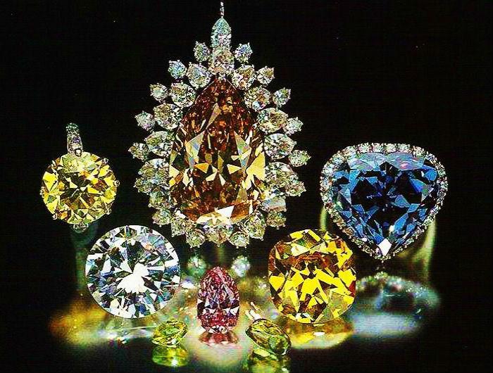 цвет алмазов Цвет алмаза