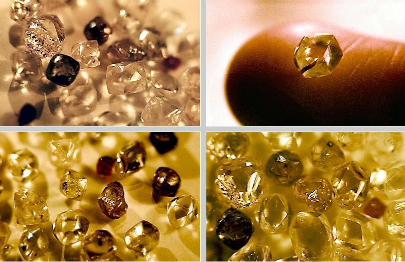 алмазы из Якутии Краткая история добычи алмазов