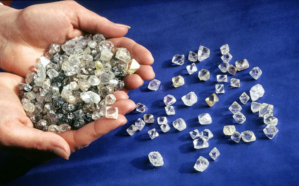 алмазы Краткая история добычи алмазов