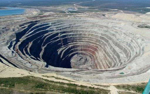 кимберлитовая трубка Краткая история добычи алмазов