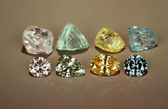 красивые алмазы Краткая история добычи алмазов
