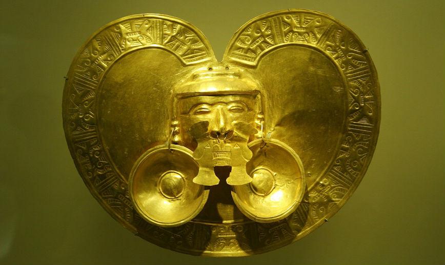 золото Колумбии Занимательные факты о золоте