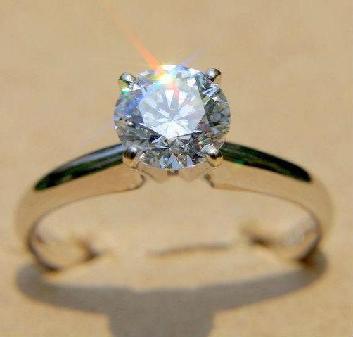 кольцо с одиночным бриллиантом Кольца с бриллиантом виды, дизайн, тип оправы, форма камня как выбрать