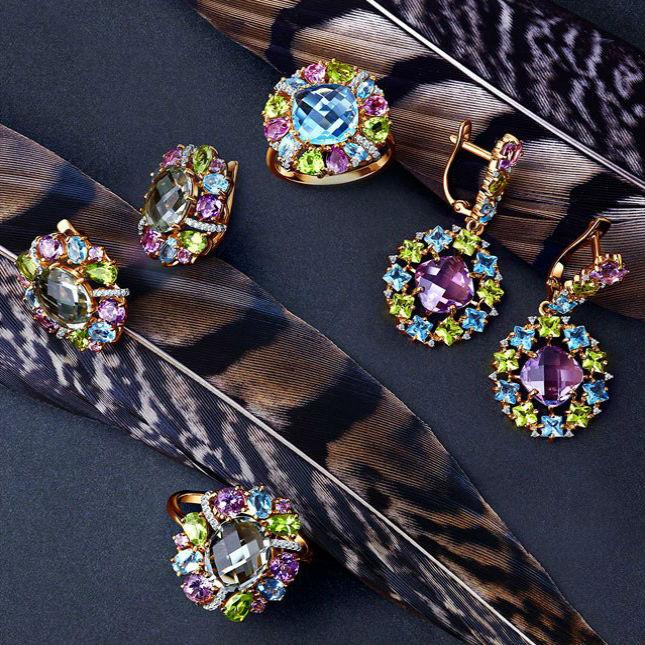 модные украшения с камнями Какие драгоценные камни сейчас в моде