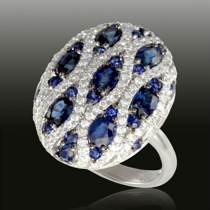 кольцо с сапфиром Особенности ювелирных украшений с сапфиром