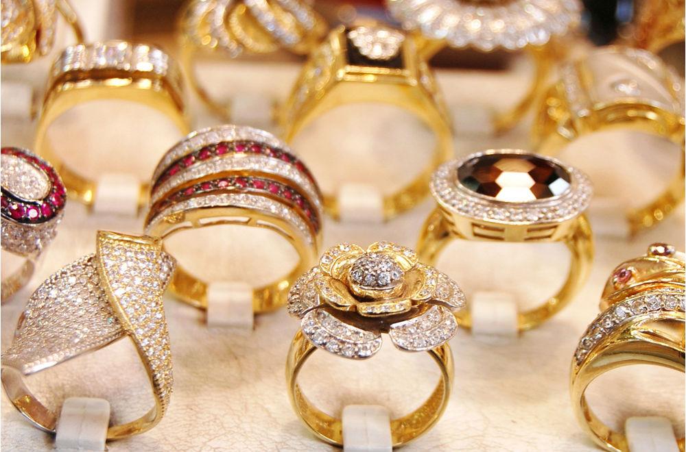 ювелирные украшения из золота Цветное золото