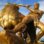 Геракл 150x150 Камень азурит