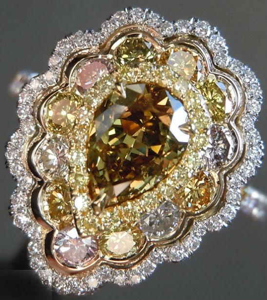бриллианты оценка качества Оценка цветных бриллиантов