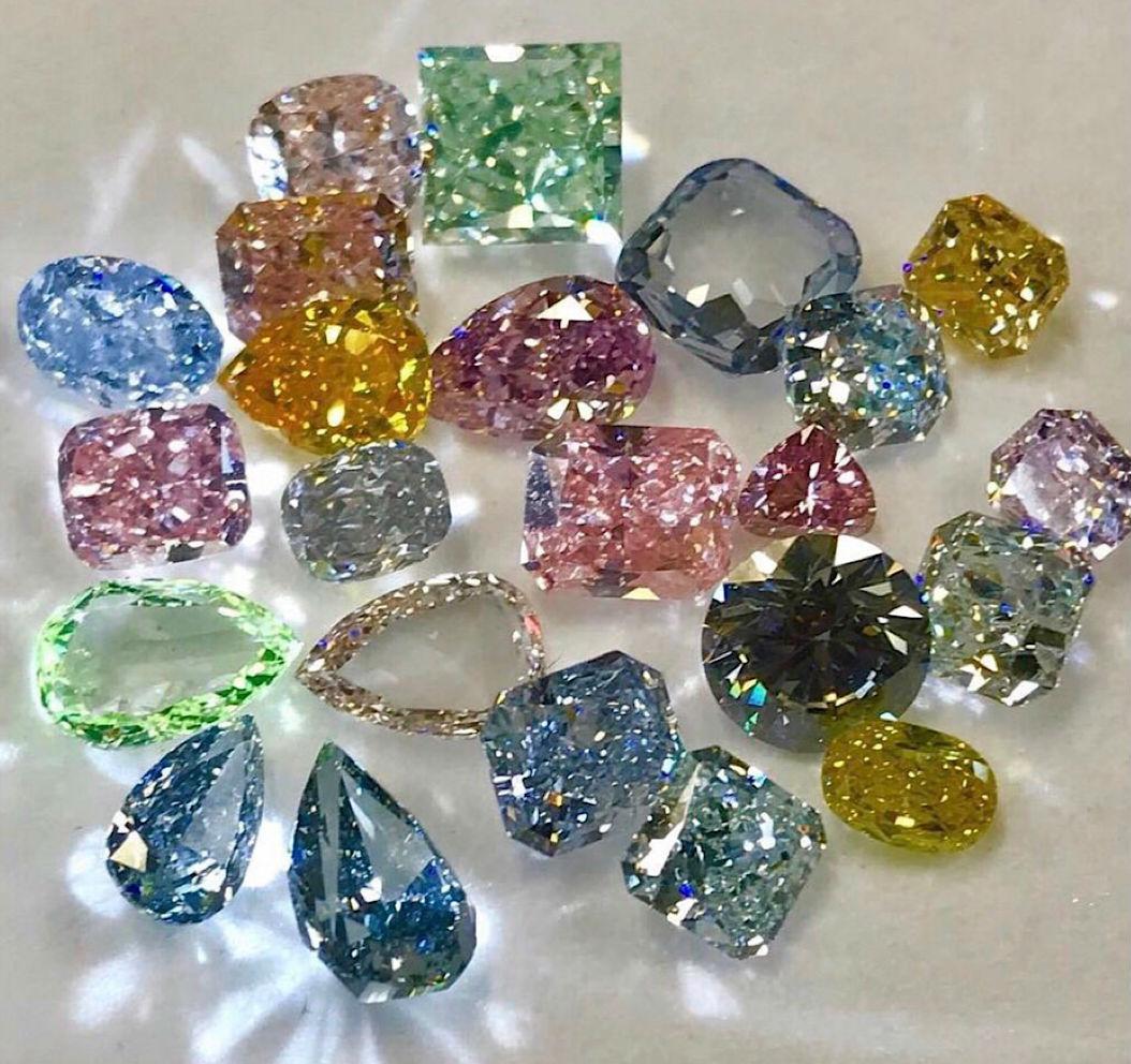 оценка бриллиантов Оценка цветных бриллиантов
