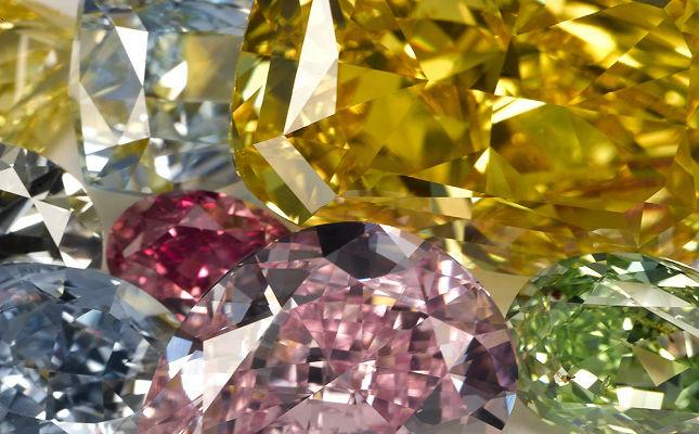 цветные бриллианты Оценка цветных бриллиантов